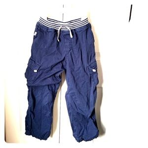 Hanna Andersson Boys' cargo pants, size 8-10